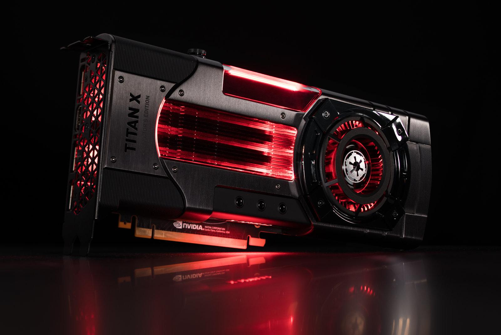 Nvidia выпустит тематические видеокарты для поклонников Star Wars