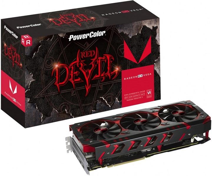 PowerColor Red Devil RadeonRX Vega 64: релиз незагорами