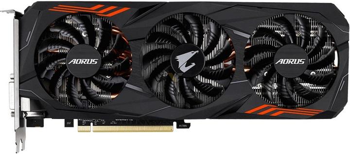 Gigabyte анонсирует видеокарту GeForce для видеокарты GTX 1070 ти два