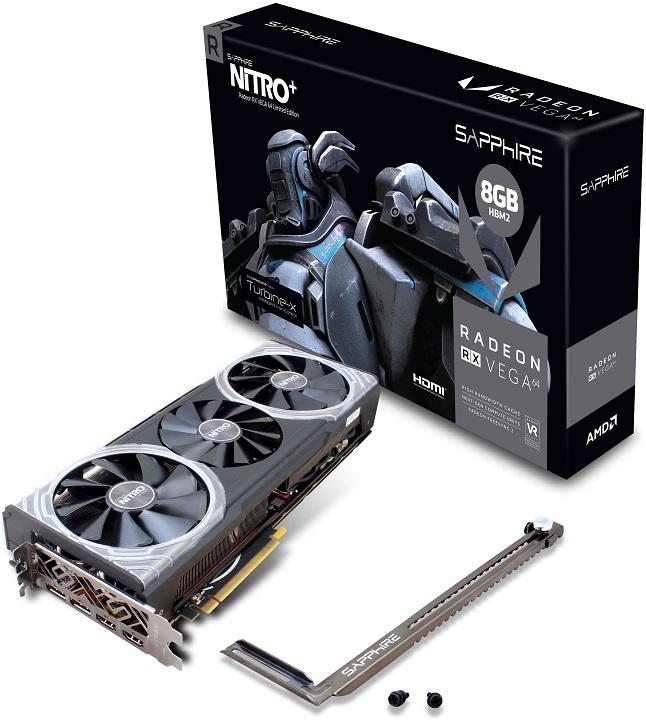 Sapphite Radeon RX Vega 64 Nitro+