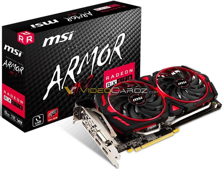 MSI Radeon RX 500 Armor MK2