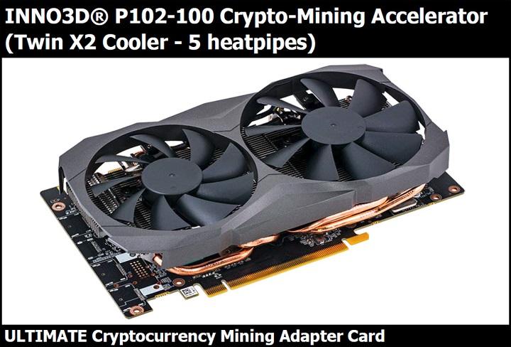 Характеристики криптовалютного ускорителя Nvidia P102-100 появились вглобальной web-сети