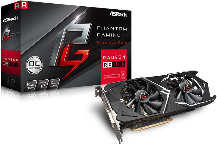 ASRock Phantom Gaming X Radeon RX 580