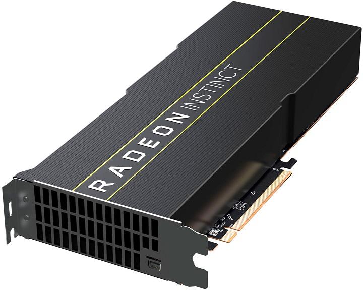 Компания AMD презентовала 1-ый вмире 7-нанометровый GPU