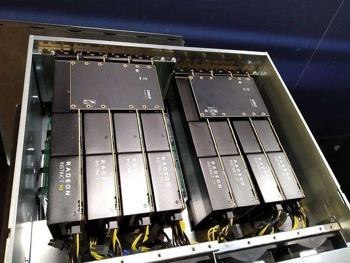 В новых ускорителях AMD Radeon Instinct используется 7-нм GPU Vega