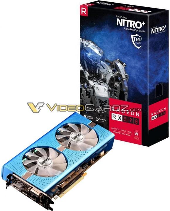 Radeon RX 590 Nitro + Special Edition