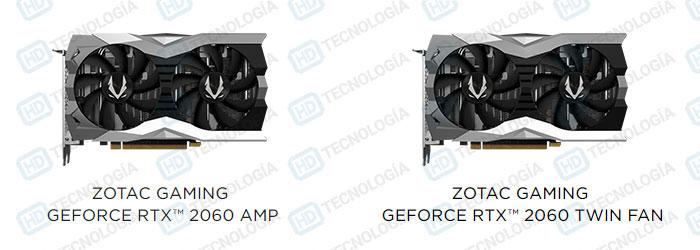 Zotac RTX 2060 AMP! и RTX 2060 Twin Fan