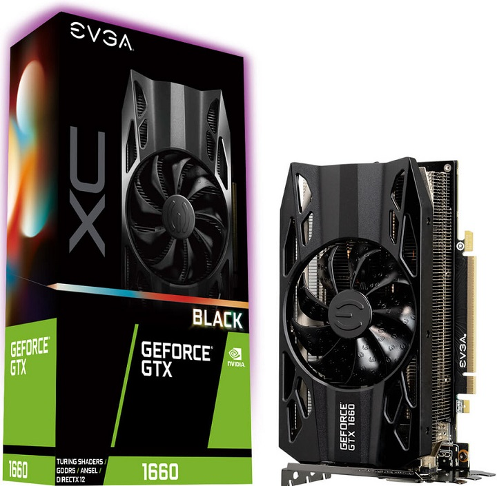 EVGA GeForce GTX 1660 XC Black