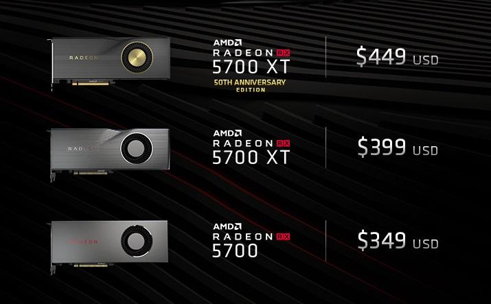 Radeon RX 5700 и RX 5700 XT