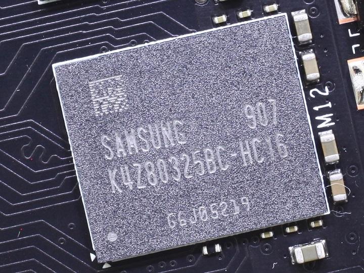 Samsung K4Z80325BC-HC16