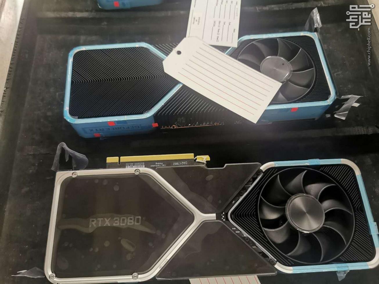 Nvidia раскрывает особенности эталонных GeForce RTX 3000 в свежем видеоролике