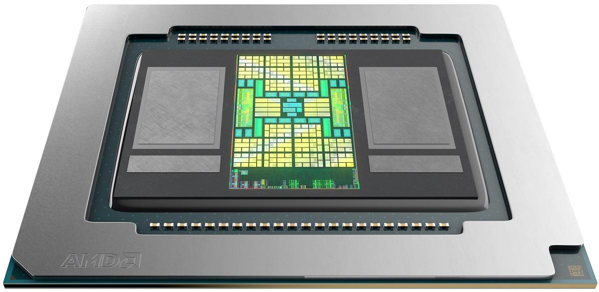 Видеоадаптер AMD Radeon Pro 5600M располагает памятью HBM2