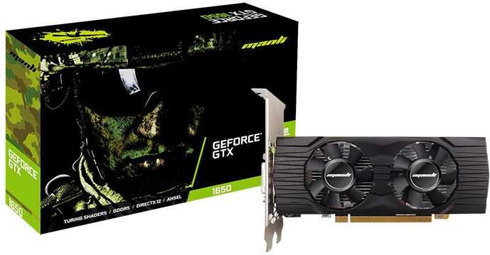 Manli GeForce GTX 1650 Low Profile