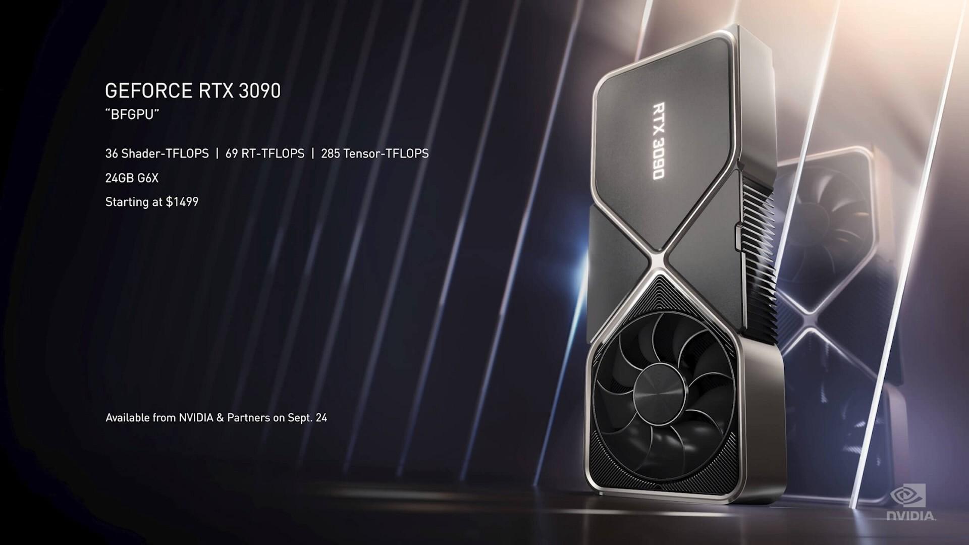 GeForce RTX 3090 — самая быстрая видеокарта для добычи Ethereum