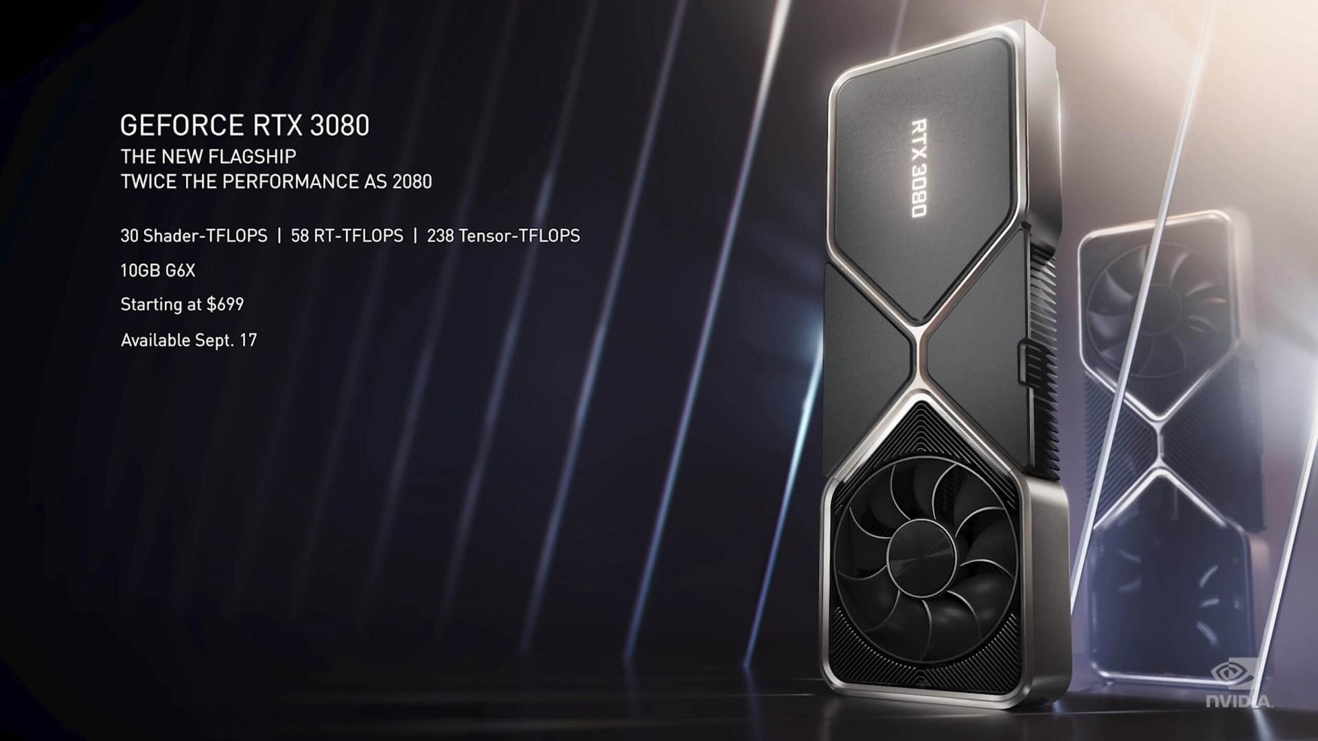 GeForce RTX 3000: официальный анонс нового поколения видеокарт Nvidia