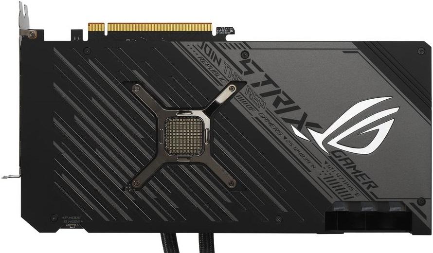 ASUS представила видеокарту Radeon RX 6900 XT ROG Strix LC с гибридным охлаждением