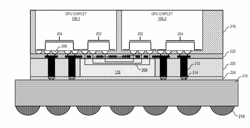 AMD запатентовала чиплетную конструкцию графических процессоров