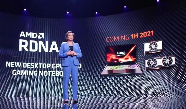 Эталонная AMD Radeon RX 6600 XT показалась на рендере