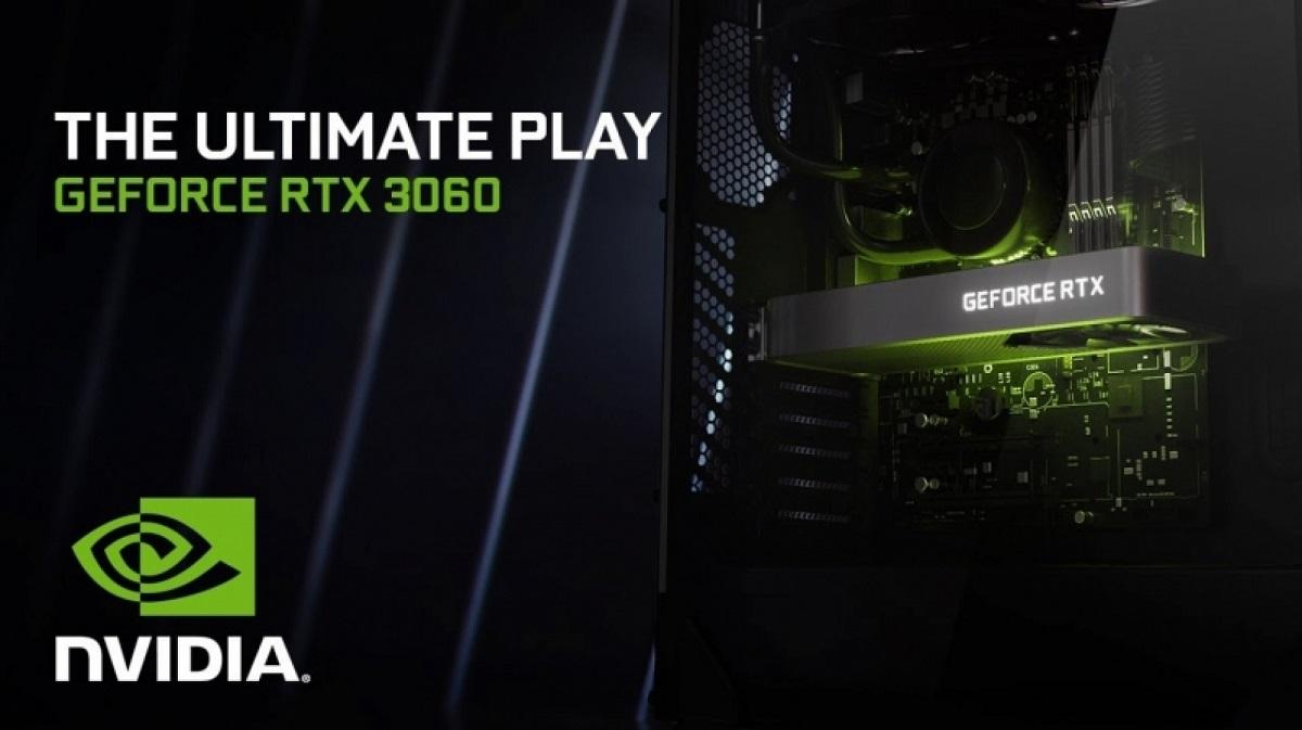 Nvidia: ограничитель майнинга для GeForce RTX 3060 был удалён из драйвера по ошибке