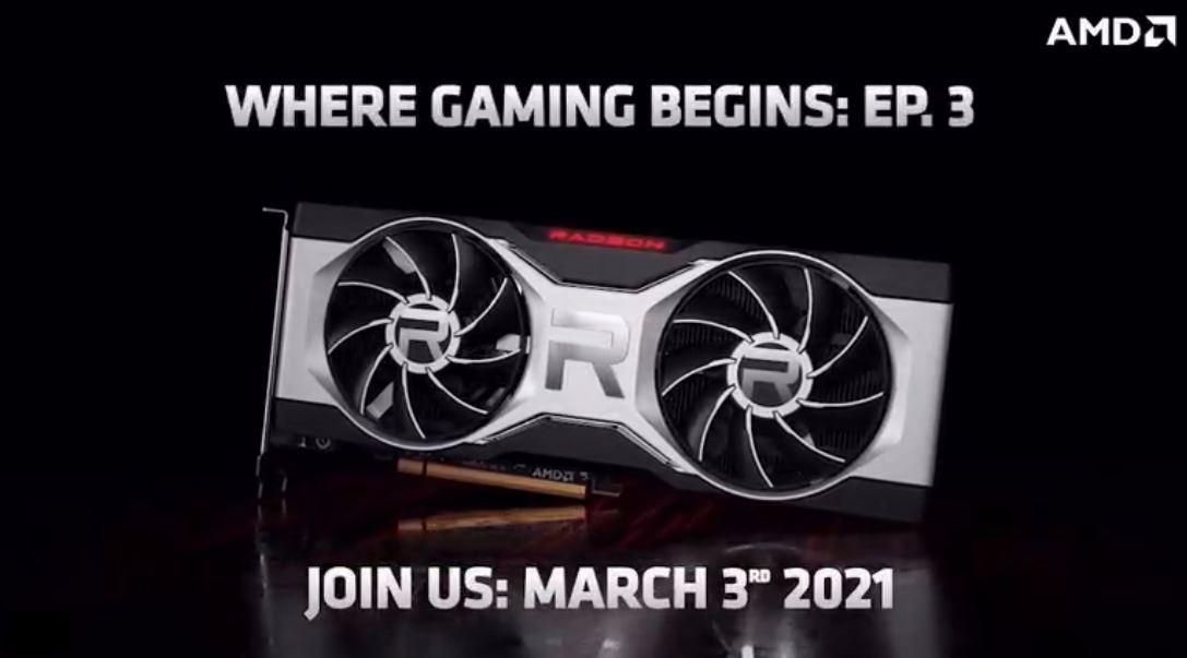 В продажу AMD Radeon RX 6700 XT поступит 17 марта