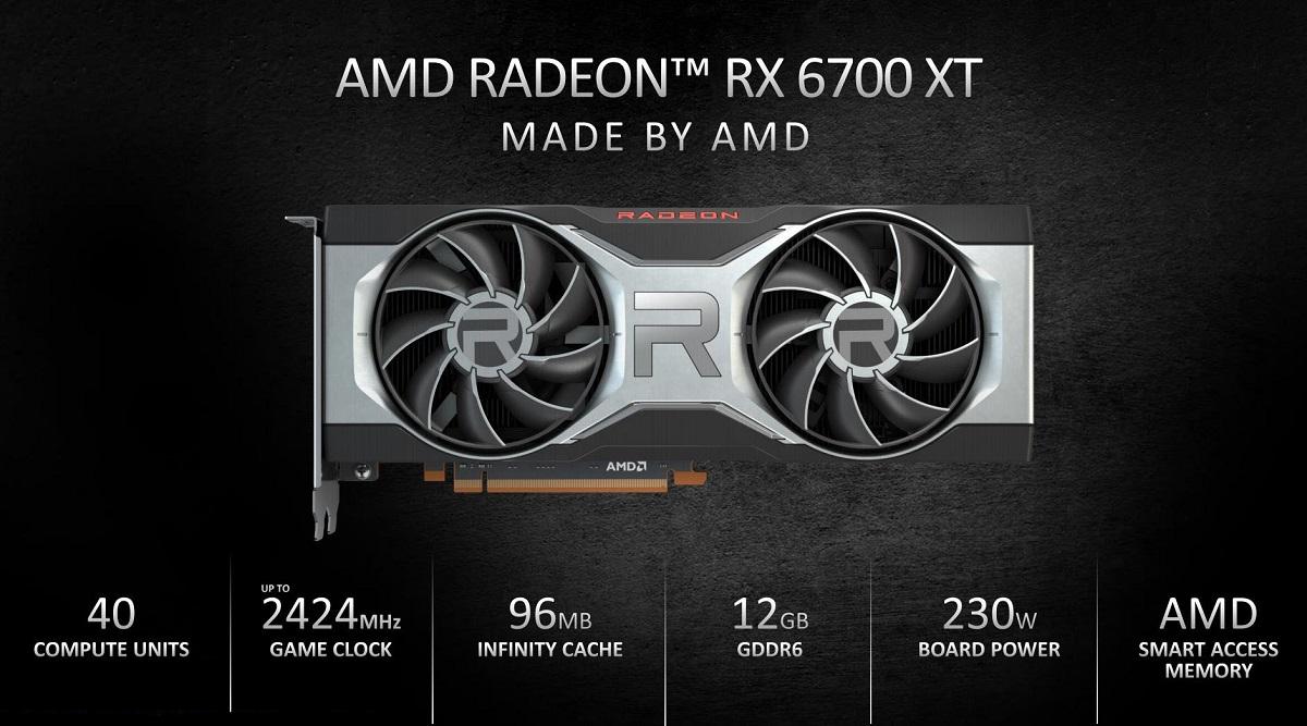 Видеокарта Radeon RX 6700 XT оказалась слабее Radeon RX 5700 XT в майнинге Ethereum
