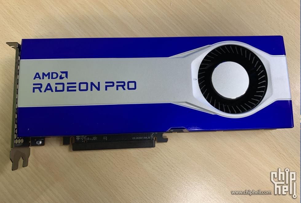 AMD готовит видеоадаптер Radeon Pro на базе GPU Navi 21