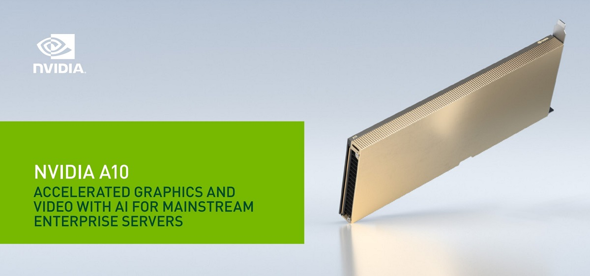Nvidia анонсировала серверные ускорители A10 и A30 с архитектурой Ampere