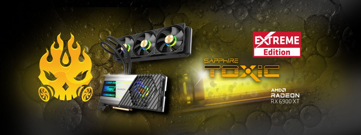 Sapphire представила Radeon RX 6900 XT Toxic Extreme Edition с внушительным разгоном