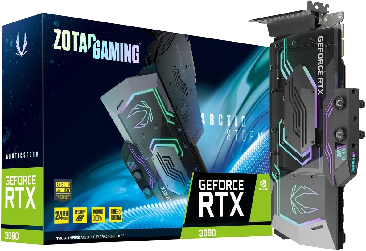 Zotac анонсировала GeForce RTX 3090 в модификации ArcticStorm