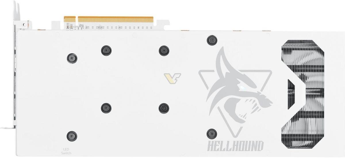 Видеокарта PowerColor Radeon RX 6700 XT HellHound облачилась в белое