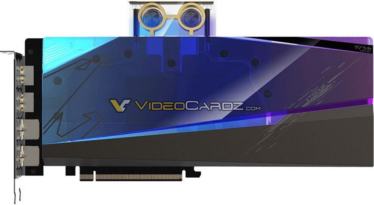 Gigabyte готовит Radeon RX 6900 XT в модификации Aorus Xtreme WaterForce WB