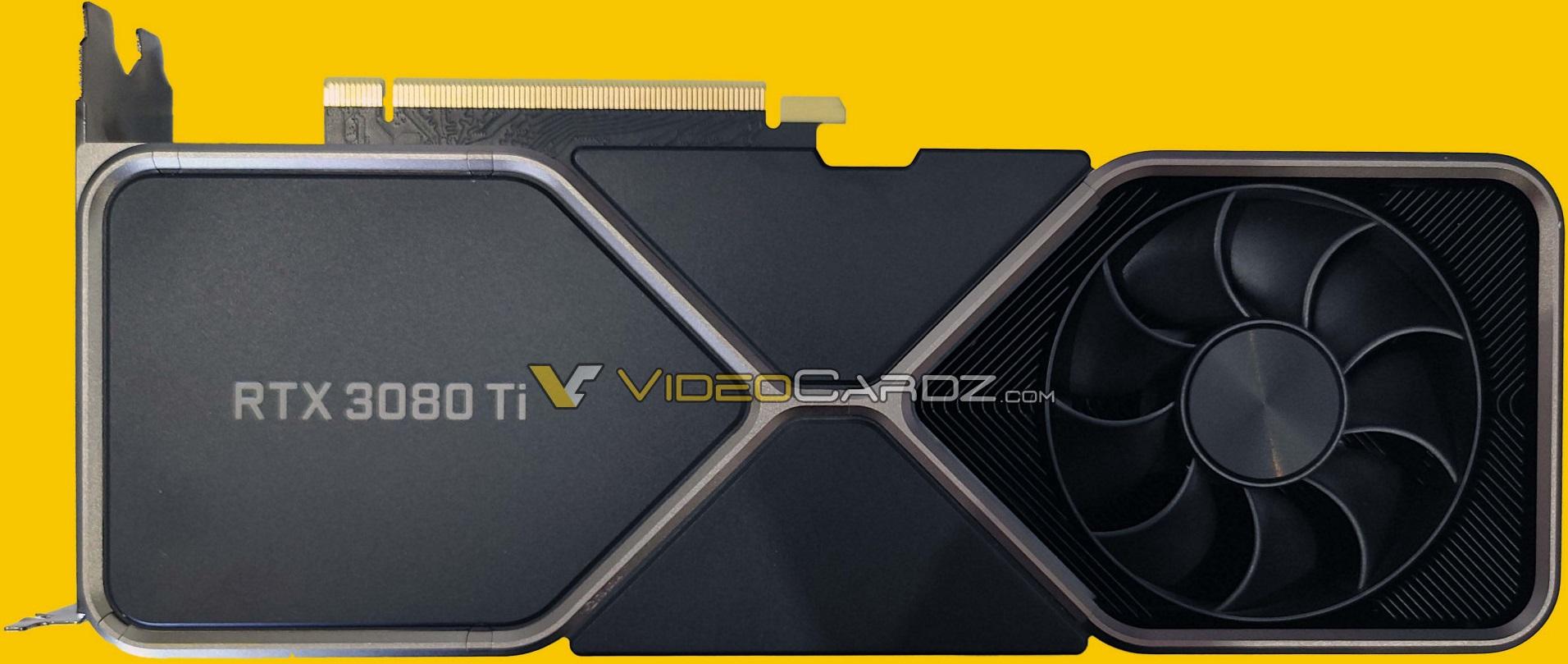 GeForce RTX 3080 Ti Founders Edition унаследовала систему охлаждения от GeForce RTX 3080