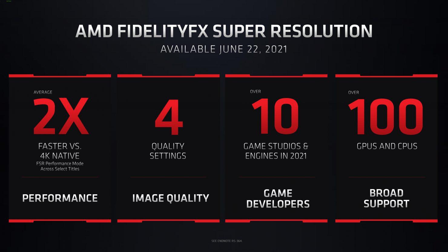 Intel заинтересована в технологии AMD FidelityFX Super Resolution для 3D-ускорителей Xe-HPG