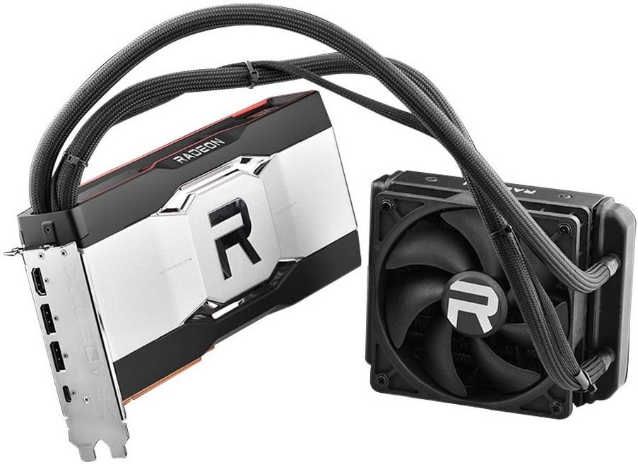 Видеокарта AMD Radeon RX 6900 XT Liquid Cooled появилась в продаже с ценой около $3000