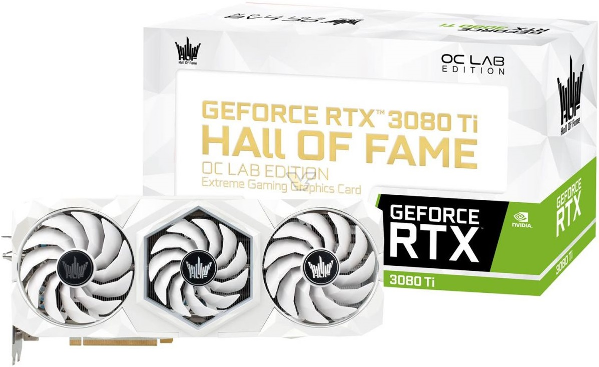 Galax предложит GeForce RTX 3080 Ti в модификации Hall of Fame OC Lab Edition
