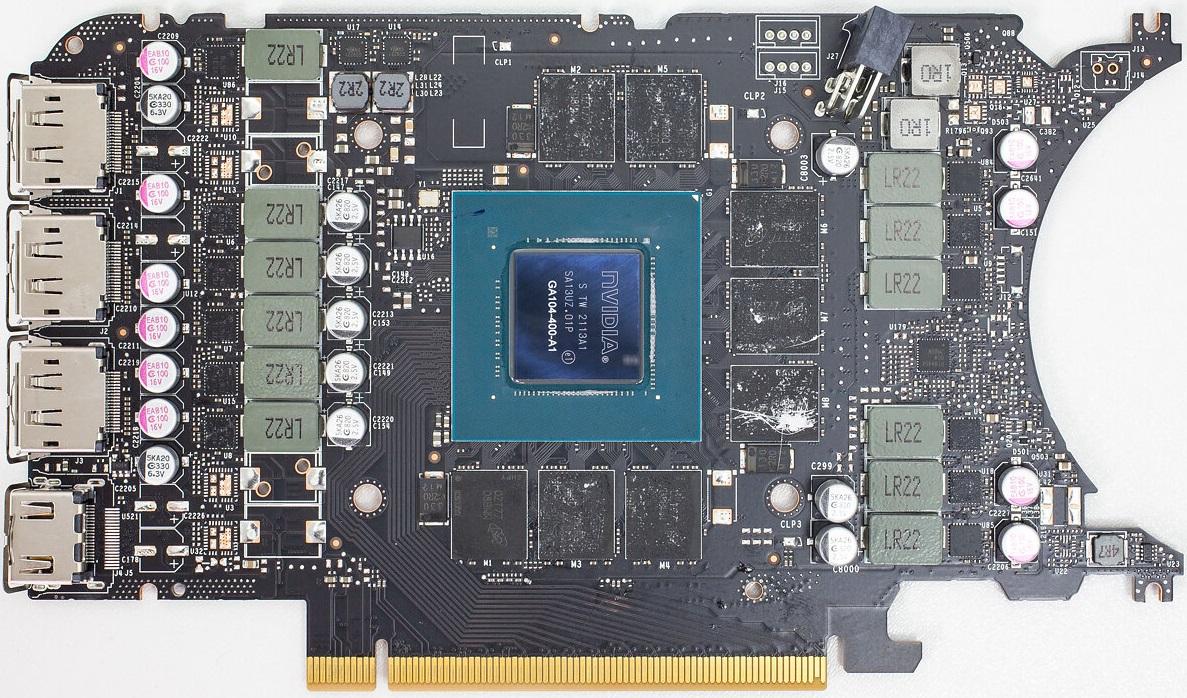 Вышли обзоры видеокарты GeForce RTX 3070 Ti