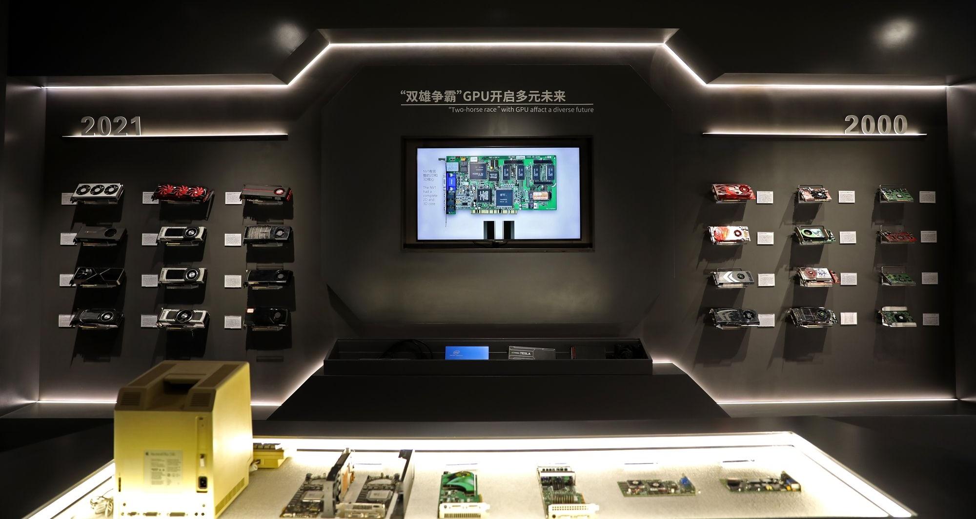 Colorful открыла музей истории графических процессоров
