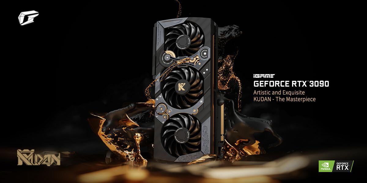 Colorful оценила видеокарту iGame GeForce RTX 3090 Kudan в $4999 / Новости / Overclockers.ua