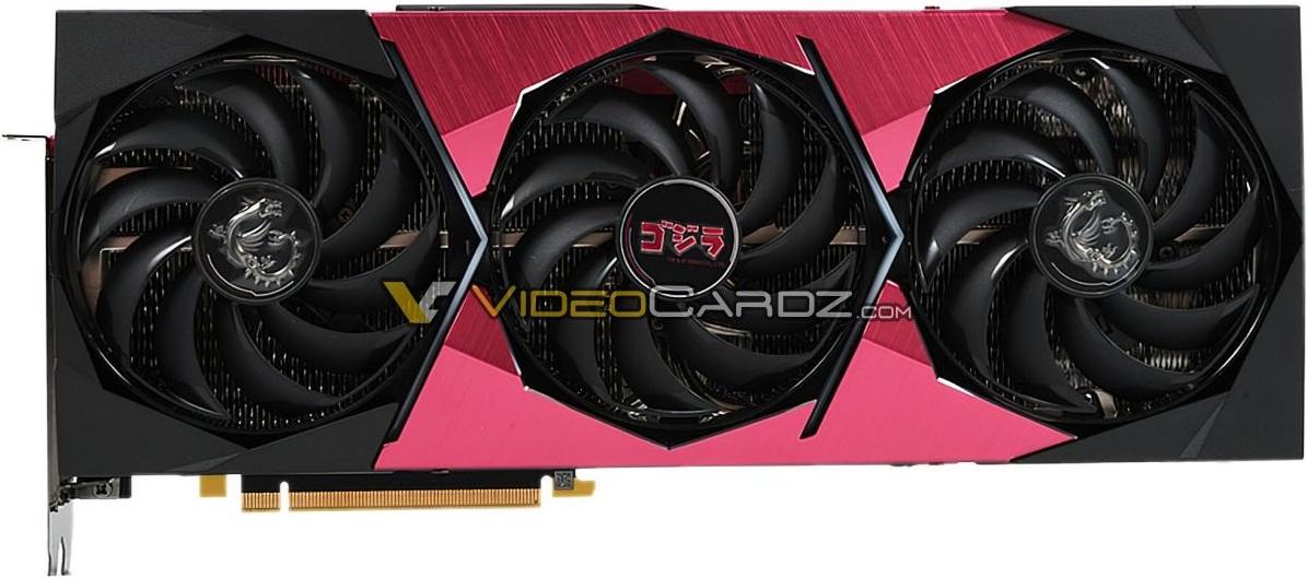 MSI предложит GeForce RTX 3070 в модификации Suprim SE x Godzilla
