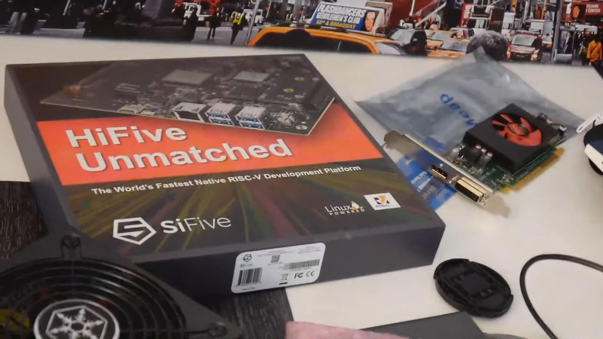 AMD Radeon RX 6700 XT заработала на платформе HiFive Unmatched с архитектурой RISC-V