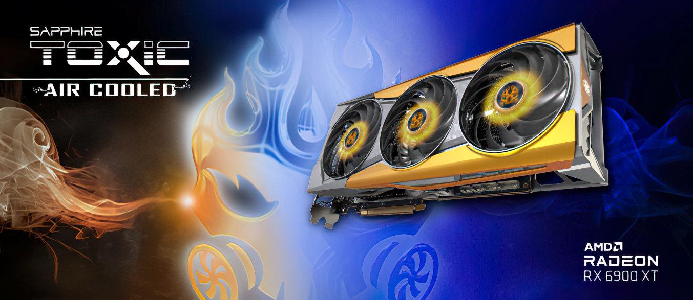 Sapphire готовит видеокарту Radeon RX 6900 XT Toxic с воздушным кулером