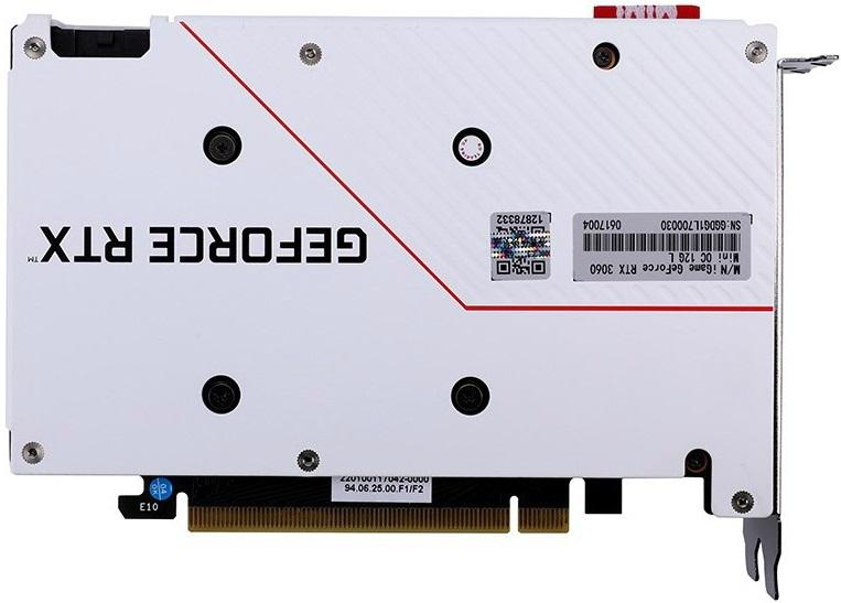 Colorful анонсировала видеокарту iGame GeForce RTX 3060 Mini OC