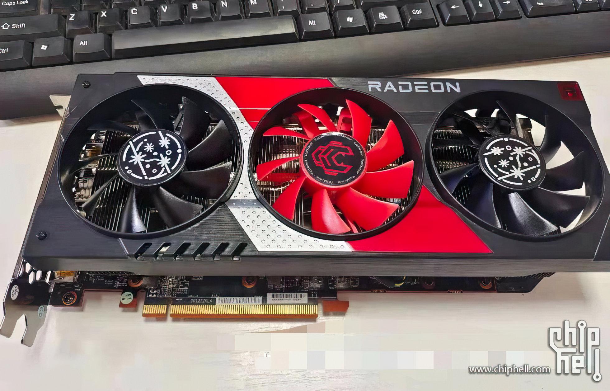 В Китае уже можно приобрести видеокарту Radeon RX 6600 XT