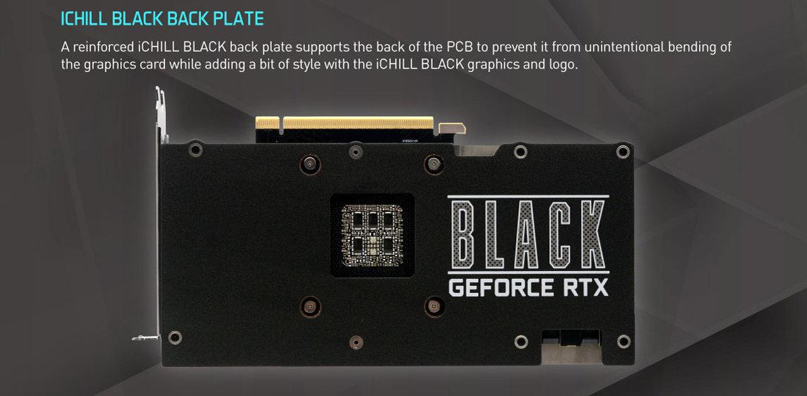 Inno3D представила GeForce RTX 3080 (Ti) iChill Black с гибридным охлаждением