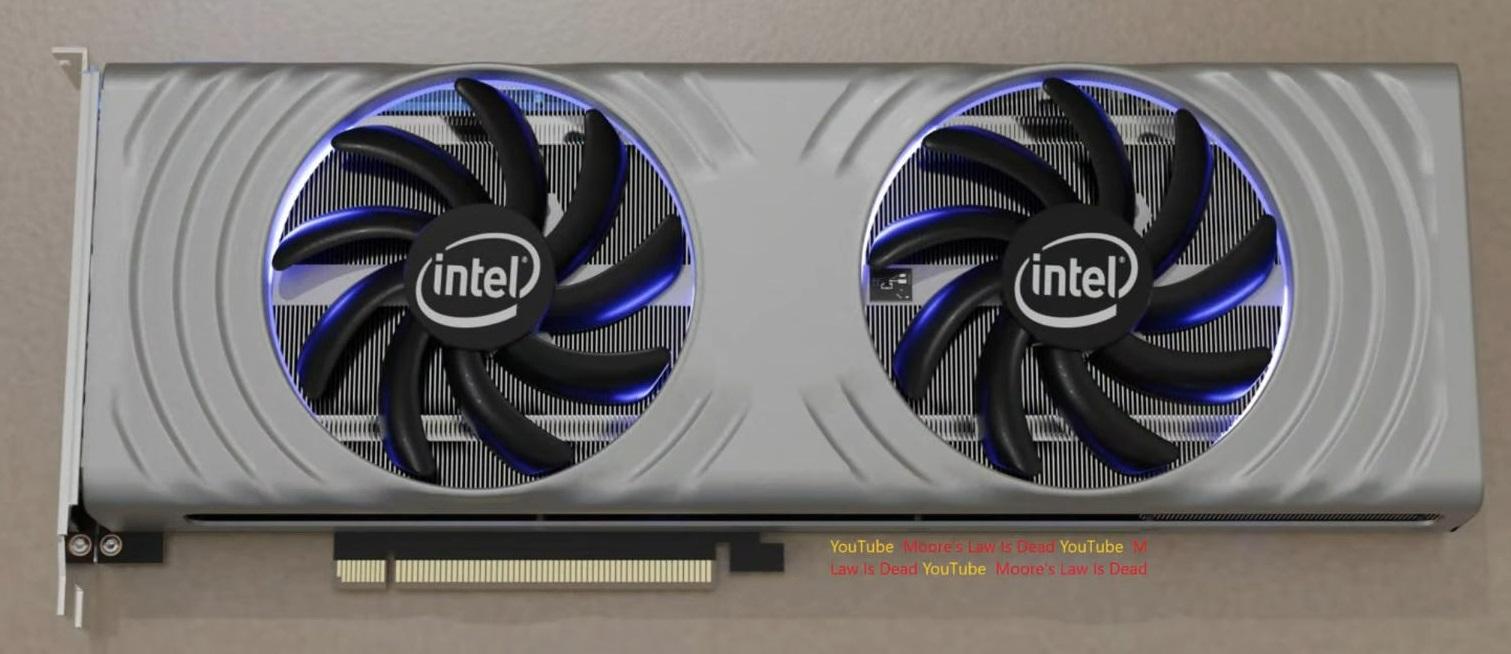 Топовая видеокарта Intel Arc Alchemist выйдет во втором квартале 2022 года