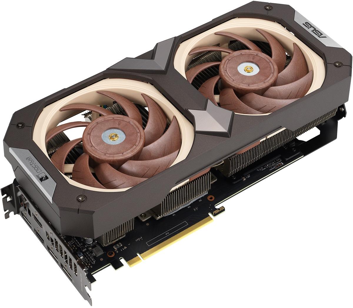Видеокарта ASUS GeForce RTX 3070 Noctua Edition представлена официально