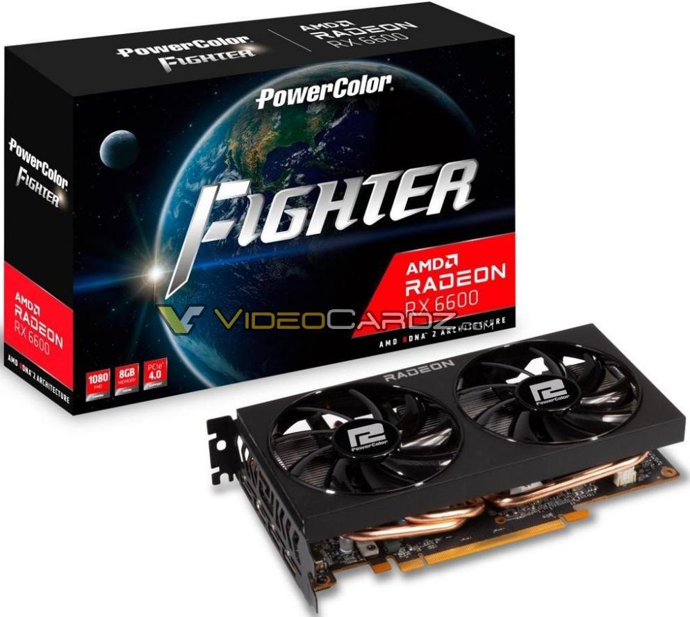 Radeon RX 6600 в исполнении XFX, ASRock и PowerColor