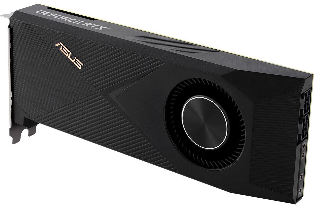 ASUS выпускает GeForce RTX 3070 Ti Turbo с центробежным вентилятором