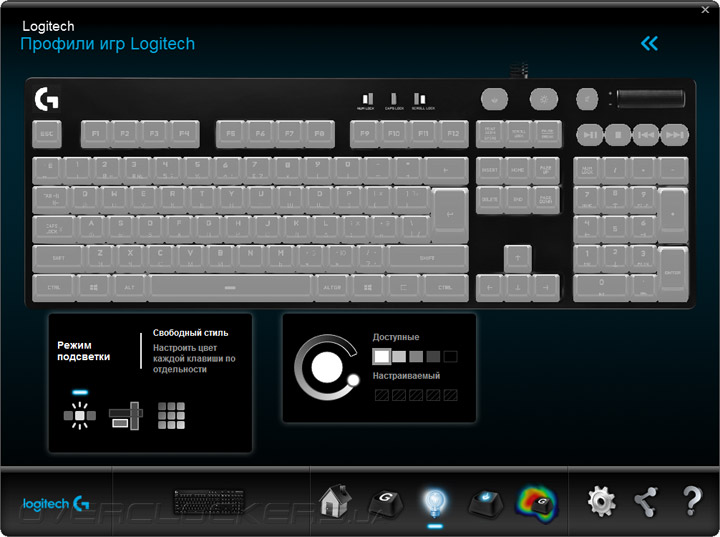 Logitech G610 Orion Brown