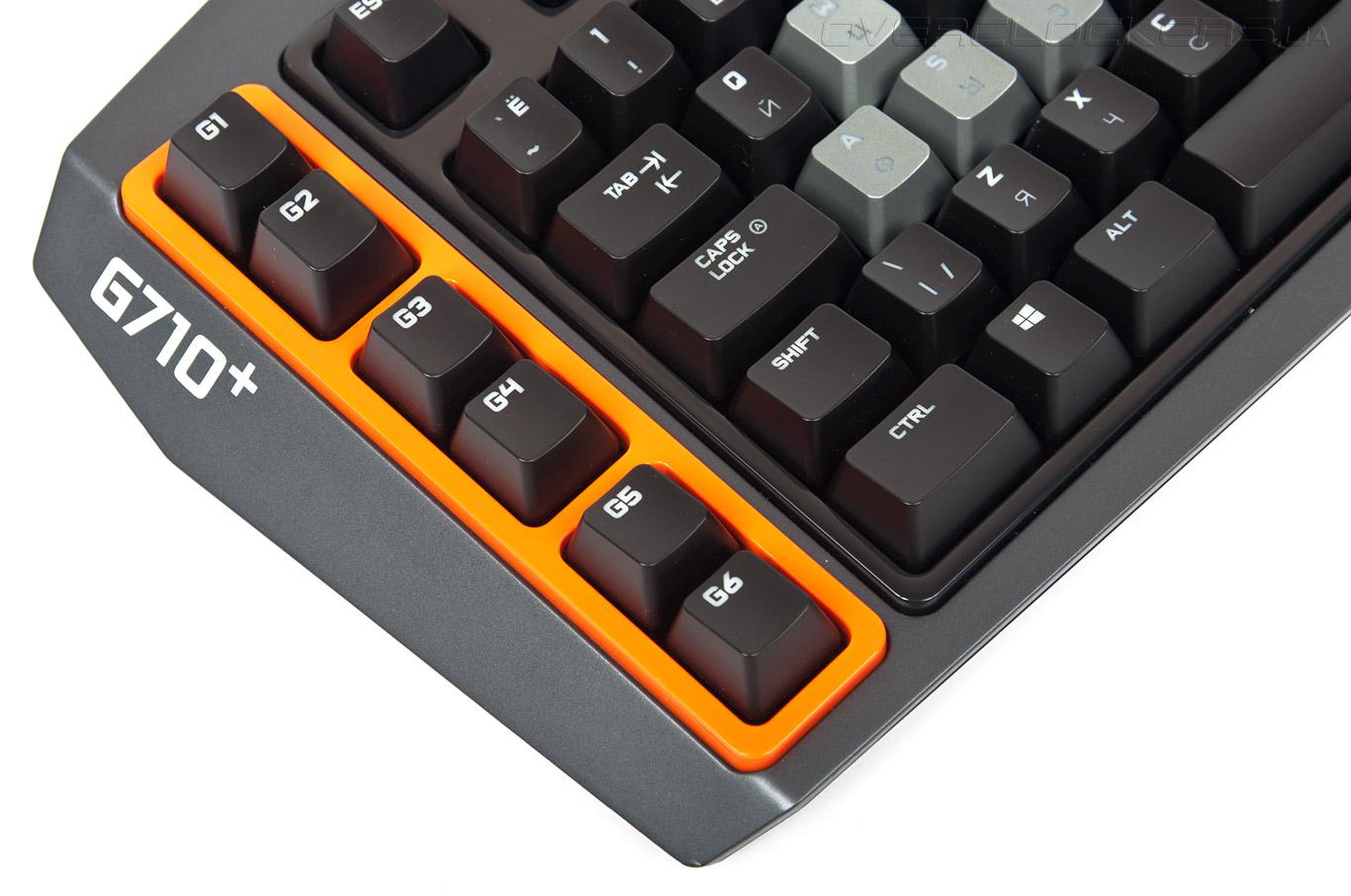Обзор геймерской клавиатуры Logitech G710+ / Overclockers ua